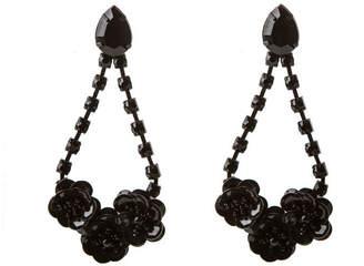 At Oasis Sequin Flower Earrings