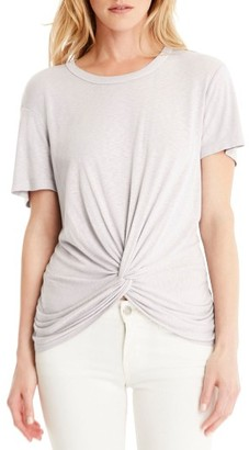 Women's Michael Stars Twist Tee $78 thestylecure.com