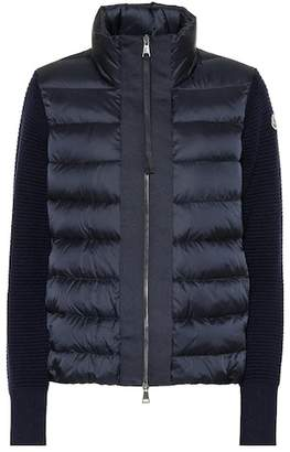 Moncler Maglione quilted down jacket