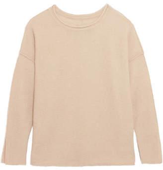 By Malene Birger Viala Wool And Mohair-blend Sweater - Beige