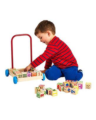Fashion World Personalised Trolley & Alphabet Blocks