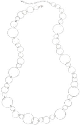 JCPenney Bold Elements Circle Link Necklace