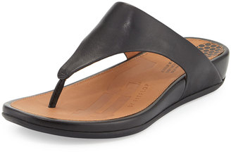 Fitflop Banda Thong-Strap Sandal, Black $84.15 thestylecure.com