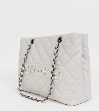 6fd1fa39c57a Mario Valentino Valentino By Valentino by grey quilted chain strap tote bag