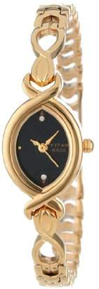Titan Women's 2251YM12 Raga Jewelry Inspired Gold-Tone Watch