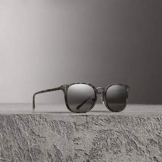 Burberry Square Frame Acetate Sunglasses