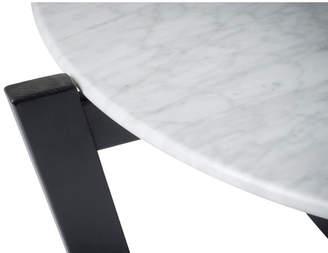 Marble Monterey Coffee Table Leg Finish: Black