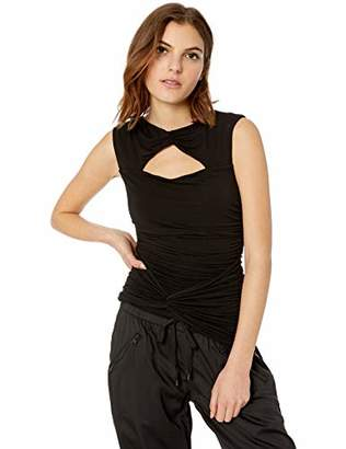 Bailey 44 Women's Up The Ante Ruched Cut Out Tank top