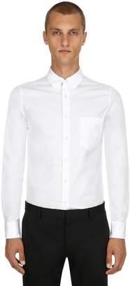 Alexander McQueen Organic Cotton Poplin Shirt