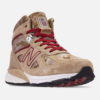 New Balance Men's 990v4 Mid Sneakerboots