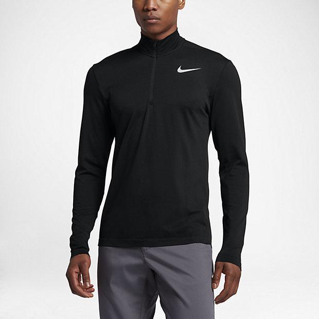 Nike Dry Knit Men's Half-Zip Long Sleeve Golf Top