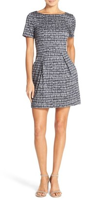 French Connection 'Canyon Sands' Pleated A-Line Dress $158 thestylecure.com