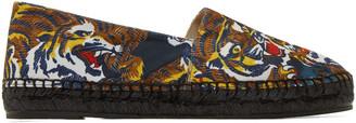Kenzo Multicolor Flying Tiger Espadrilles $195 thestylecure.com