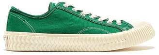 Excelsior Bolt Low Top Canvas Trainers - Mens - Green Multi