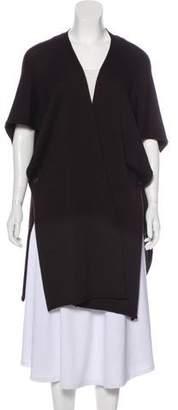 eskandar Cashmere-Blend Open Front Cardigan