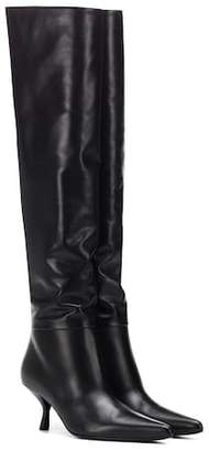 The Row Bourgeoise over-the-knee boots
