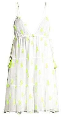 Sabrina Tessora Women's V-Neck Dress