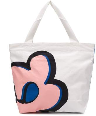 Marni flower print tote bag