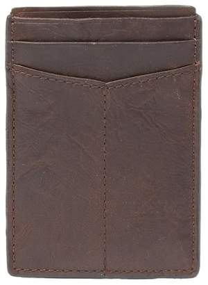 Fossil Ingram Magnetic Leather Credit Card Case
