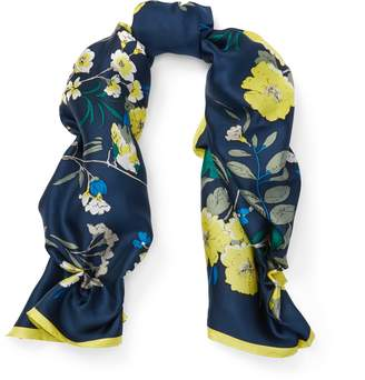 Ralph Lauren Floral Silk Scarf