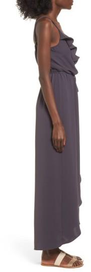 Women's Everly Ruffle Wrap Maxi Dress 3