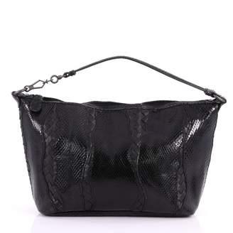 Bottega Veneta Python Handbag