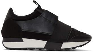 Balenciaga Black Race Sneakers