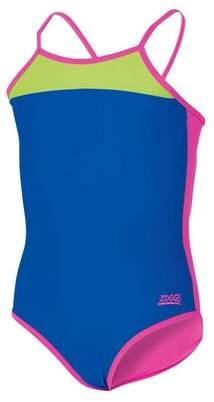 Zoggs Girl's Splish Splash Slice Swimsuit