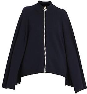 Givenchy Women's Cashmere & Wool Zip Sweater Cape