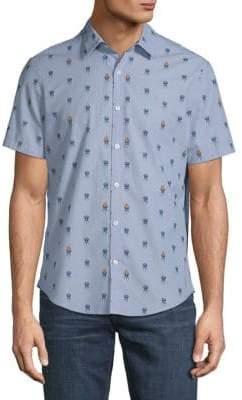 Original Penguin Grillin Chambray Button-Down Shirt