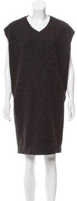 Gary Graham Wool Sleeveless Dress