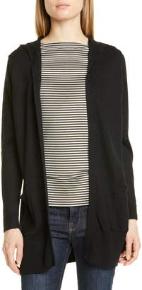 Nordstrom Signature Linen & Cotton Hooded Cardigan