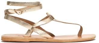 Ancient Greek Sandals Estia Leather Sandals - Womens - Gold