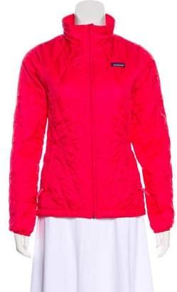 Patagonia Girls' Quilted Zip-Up Jacket