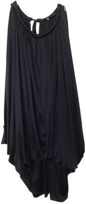 Vera Wang Blue Silk Top for Women