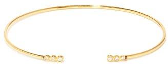 Mizuki Diamond Embellished Bracelet - Womens - Gold