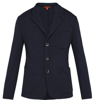 Barena venezia Venezia - Toreco Single Breasted Jersey Blazer - Mens - Navy