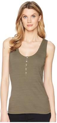 Lilla P Henley Tank Top Women's Sleeveless