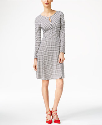 Weekend Max Mara Urbano Printed Fit & Flare Dress $295 thestylecure.com