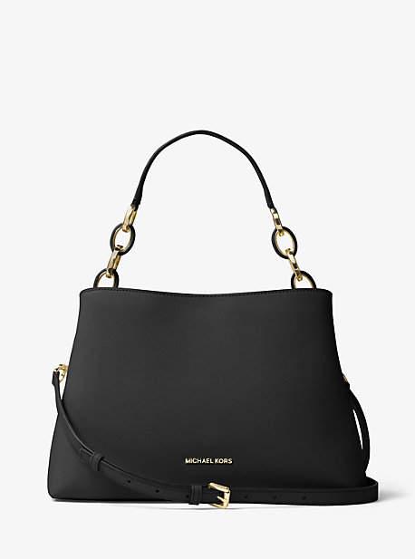 MICHAEL Michael KorsMichael Kors Portia Large Saffiano Leather Shoulder Bag