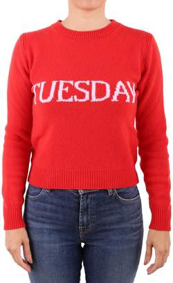 Alberta Ferretti Virgin Wool And Cashmere Sweater
