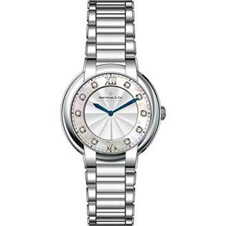 Dreyfuss & Co Dreyfuss Womens Analogue Classic Quartz Watch with Stainless Steel Strap DLB00060/D/01