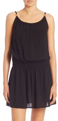 HEIDI KLEIN Drop-Waist Mini Dress $255 thestylecure.com