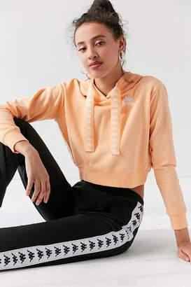 Kappa X UO Cropped Hoodie Sweatshirt