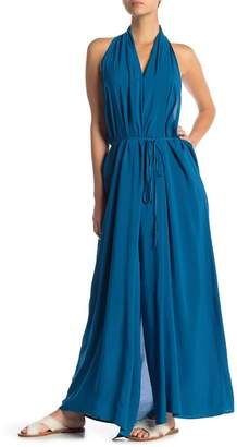 Vince Camuto Wrap Cover-Up Maxi Dress