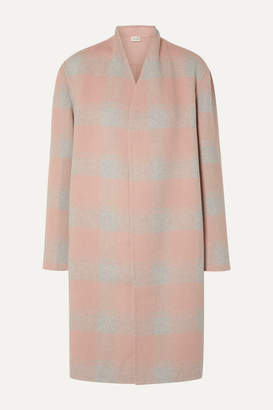 By Malene Birger Carolas Wool-blend Felt Coat - Blush