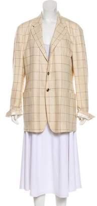 Paul Smith Oversize Printed Coat