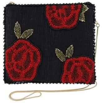 Mary Frances Embellished Beaded Roses Evening Bag