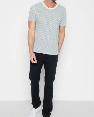7 For All Mankind Total Twill The Straight with Clean Pocket in Deep Sea