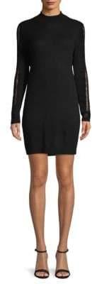 Halston Open-Back Cashmere Sweater Dress